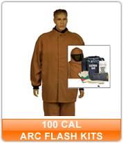 100 cal Arc Flash Kits