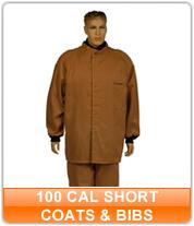 100 cal Short Coats & Bibs