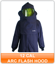 12 cal Arc Flash Hoods