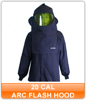 20 cal Arc Flash Hoods