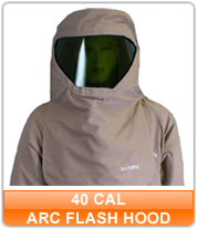 40 cal Arc Flash Hoods