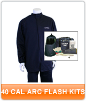 40 cal Arc Flash Kits