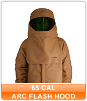 65 cal Arc Flash Hoods