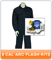 8 cal Arc Flash Kits