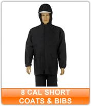 8 cal Short Coats & Bibs