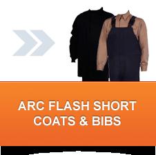 Arc Flash Short Coats & Bibs