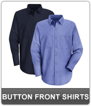 Mens Button Front Shirts