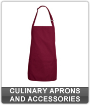 Culinary Aprons and Accessories