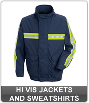 Men's Hi Vis Jackets and Sweatshirts