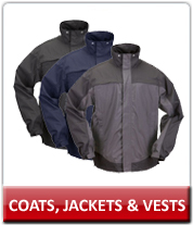 Law Enforcement Coats, Jackets and Vests