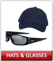 Law Enforcement Hats and Sunglasses