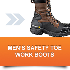 Men's Safety Toe Work Boots