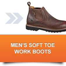 Men's Soft Toe Work Boots