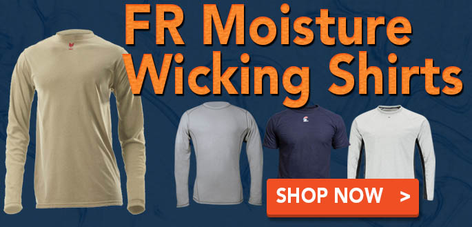 FR Moisture Wicking Shirts