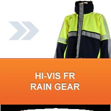 Hi-Vis FR Rain Gear