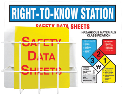 Right To Know Posters & Stations