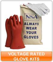 Voltage Rated Glove Kits