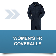 Women's Flame Resistant Coveralls