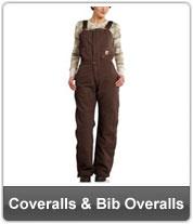 Womens Coveralls & Bib Overalls