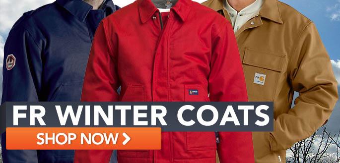 FR winter coats