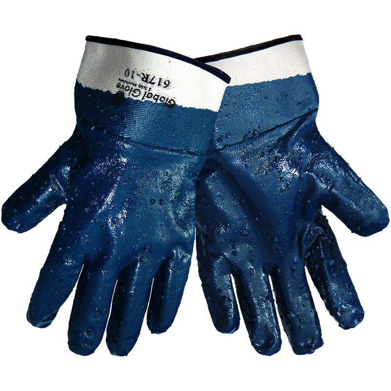 Heavy Nitrile Gloves