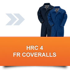 HRC 4 Insulated FR Coveralls