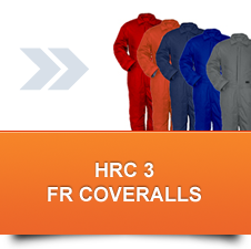 HRC 3 FR Coveralls