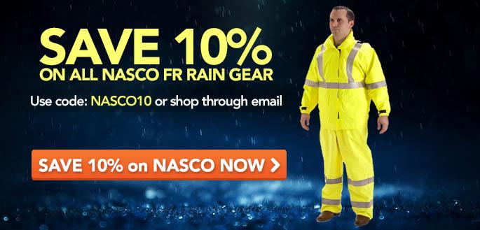 NASCO FR Rain Gear
