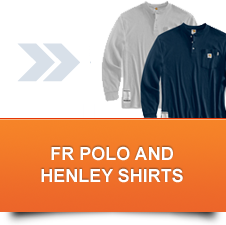 FR Polo and Henley Shirts