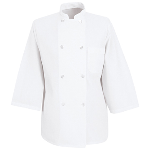 Three-Quarter Sleeve Chef Coat