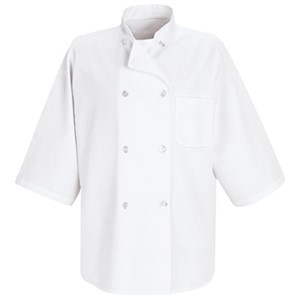 Half-Sleeve Chef Coat
