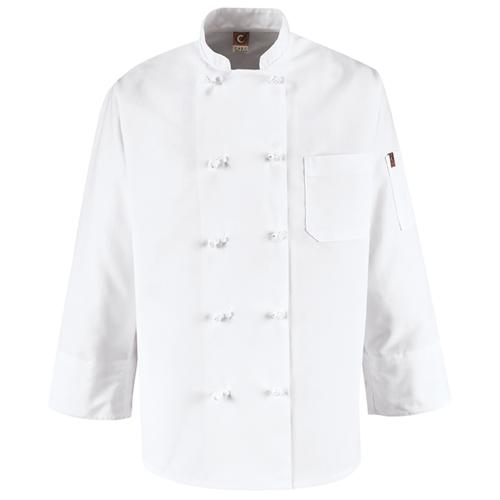 Ten Knot Button Chef Coat