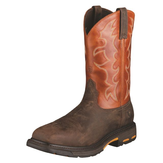 Workhog Square Toe Steel Toe Boot