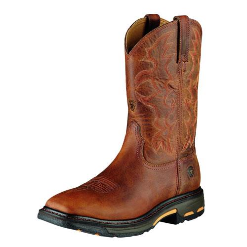 Ariat Workhog Steel Toe Boots
