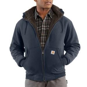 Collinsworth Brushed Fleece Sherpa-Lined Sweatshirt