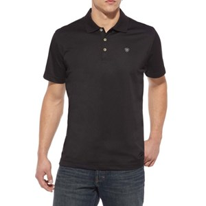 Ariat Men's Short Sleeve Tek Polo