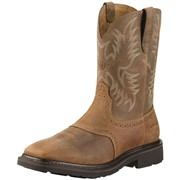 Sierra Square Toe Steel Toe Boot