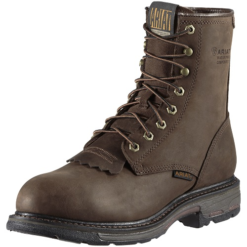 "Workhog 8"" H2O Composite Toe Boot"
