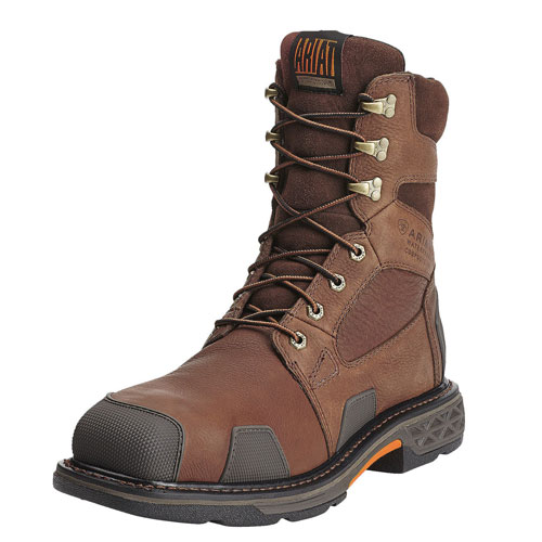 "Overdrive 8"" Wide Square Toe H2O Boot"