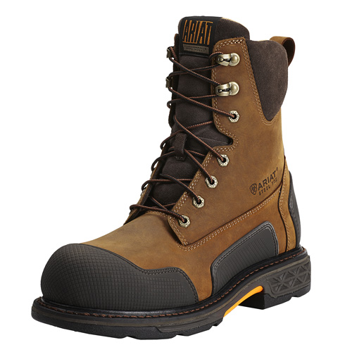 "Ariat OverDrive XTR 8"" Side Zip Work Boots"