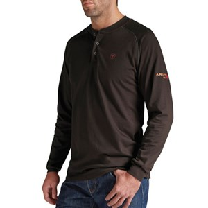 Ariat FR Long Sleeve Work Henley