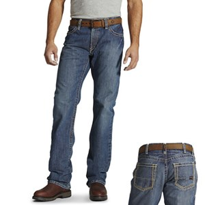 9917d3832789 Ariat FR M4 Boundary Boot Cut Jeans