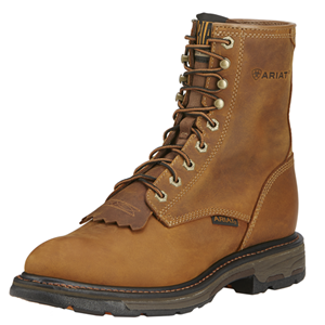 "Ariat Workhog 8"" Soft Toe Boot"