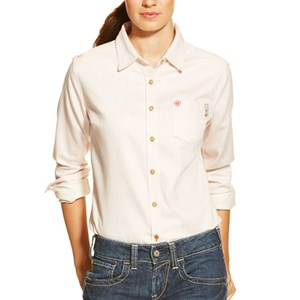 Women's FR Stripe Work Shirt
