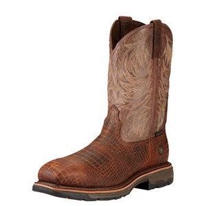 Workhog Wide Square Toe Composite Toe Boot