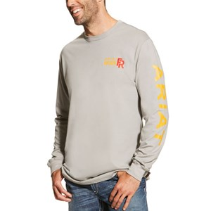 Ariat FR Logo Long Sleeve Tee