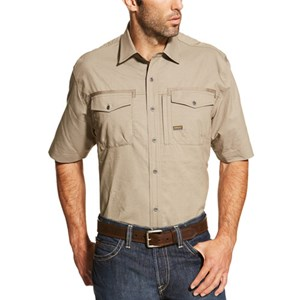 Rebar Short Sleeve Work Shirt