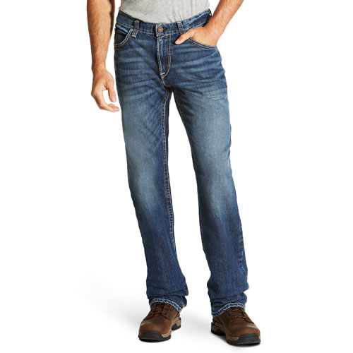 Ariat FR M4 Low Rise Boot Cut Jean with Stretch
