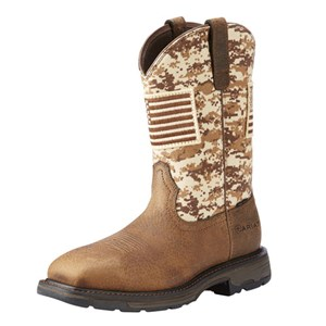 WorkHog Patriot Steel Toe Boot