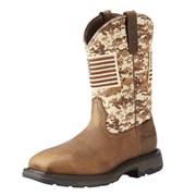 WorkHog Patriot Steel Toe Boot
